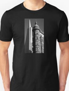 San Fran - New and Old Unisex T-Shirt
