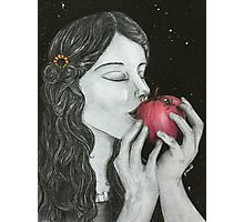 Snow White Photographic Print