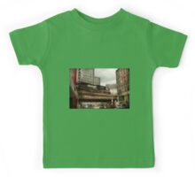 Train - Pittsburg Pa - The industrial city Kids Tee