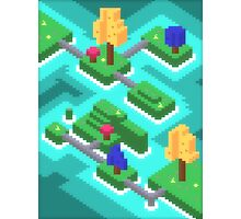 Pixel Islands Photographic Print