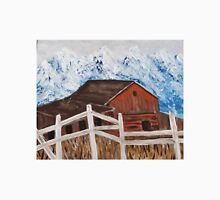 White Fence around the Barn Unisex T-Shirt