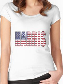 Harris (USA) Women's Fitted Scoop T-Shirt