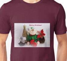 Merry Christmas!   Christmas Card Series # 7 Unisex T-Shirt