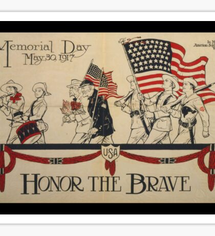 Honor the Brave WWI Sticker