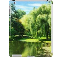Willow By the Lake iPad Case/Skin
