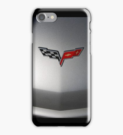 Little Silver Corvette Case iPhone Case/Skin