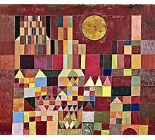 Paul Klee - Castle And Sun  Photographic Print