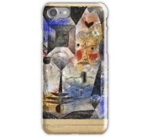 Paul Klee - Concentrierter Roman  iPhone Case/Skin