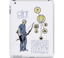 Clint 'Hawkeye' Barton iPad Case/Skin