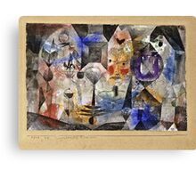 Paul Klee - Concentrierter Roman  Canvas Print