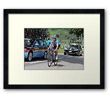 Tour de France 2014 - Jack Bauer - New Zealand Framed Print