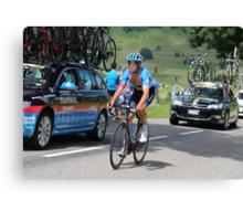 Tour de France 2014 - Jack Bauer - New Zealand Canvas Print
