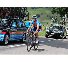 Tour de France 2014 - Jack Bauer - New Zealand Photographic Print