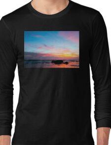 Sunset Handry's Beach Long Sleeve T-Shirt