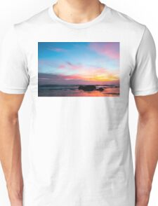 Sunset Handry's Beach Unisex T-Shirt