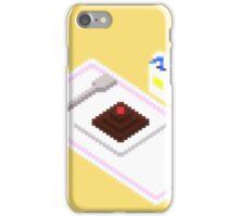 Plate Of Dessert Pixels iPhone Case/Skin