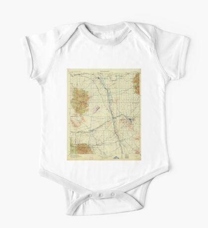 USGS TOPO Map Arizona AZ Benson 315330 1915 125000 One Piece - Short Sleeve
