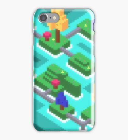 Pixel Islands iPhone Case/Skin