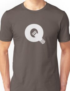 Q is for Quiver - White Unisex T-Shirt