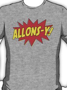 Allons-y! (Comics) T-Shirt