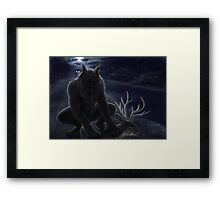 The Beast of Bray Road Framed Print