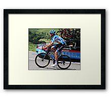 Tour de France - Jack Bauer (2) - New Zealand  Framed Print