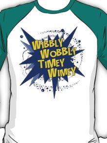 Wibbly Wobbly Timey Wimey (Comics) T-Shirt