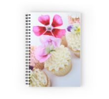 Cupcakes and Flowers Spiral Notebook