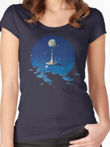 Time - Electric Light Orchestra Women's Fitted Scoop T-Shirt