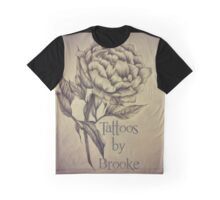 Tattoos by Brooke Business Card Graphic T-Shirt