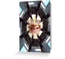 Face series 4 Greeting Card