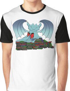 Book Dragon Graphic T-Shirt