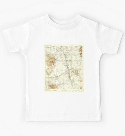 USGS TOPO Map Arizona AZ Benson 315328 1915 125000 Kids Tee