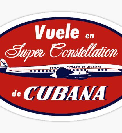 Super Constellation de Cubana Sticker