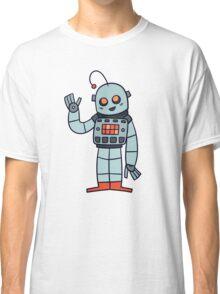 Happy Robot Classic T-Shirt