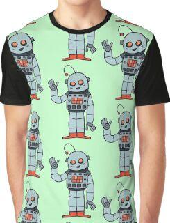Happy Robot Graphic T-Shirt