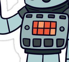 Happy Robot Sticker