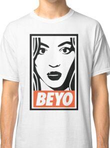 beyo beyonce x dis obey funny collab Classic T-Shirt