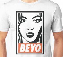 beyo beyonce x dis obey funny collab Unisex T-Shirt