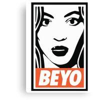 beyo beyonce x dis obey funny collab Canvas Print