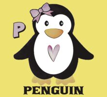 P is for Penguin Kids Tee
