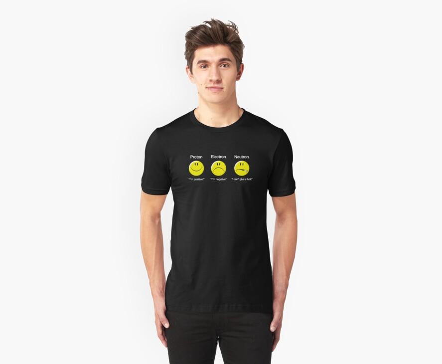 Proton, Electron, Neutron by ixrid