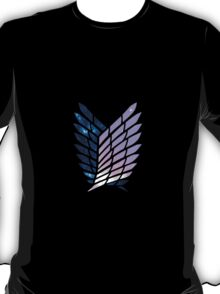 Wings of Space || Survey Corps logo T-Shirt