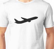Airplane take off depature Unisex T-Shirt