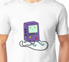 Beemo (BMO) Gameboy color purple Unisex T-Shirt