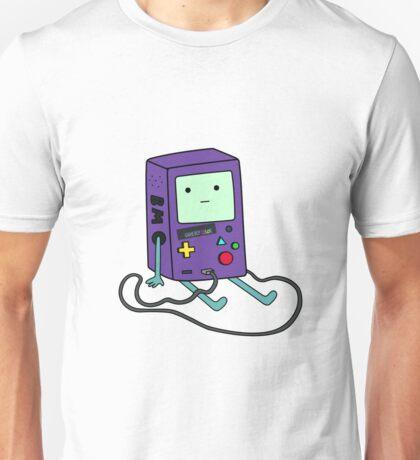Beemo (BMO) Gameboy color purple Unisex T-Shirt