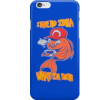 Fish plays Pokemon iPhone Case/Skin