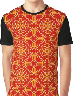 Baroque 6 Red Graphic T-Shirt