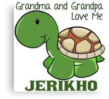 J is for Jerikho - Custom  Orders! Canvas Print