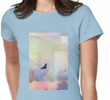 Abstract Soaring Hawk Womens Fitted T-Shirt